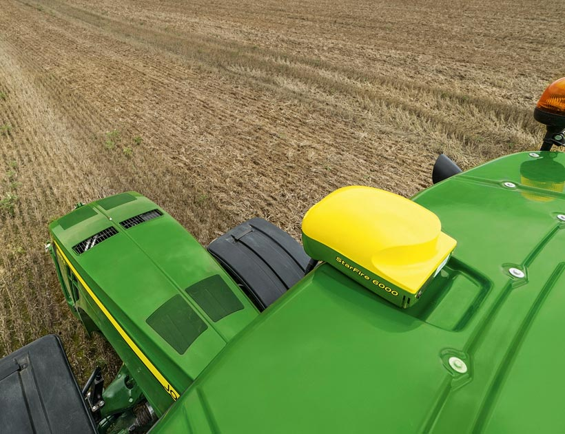 Guidage satellite John Deere